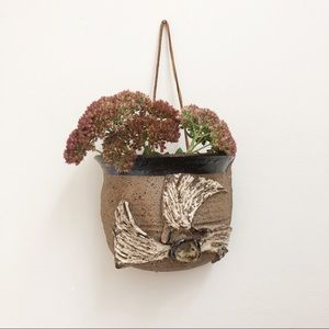 Handmade Hanging Ceramic Planter